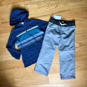 NWT Gymboree Hooded Long Sleeve And Pants